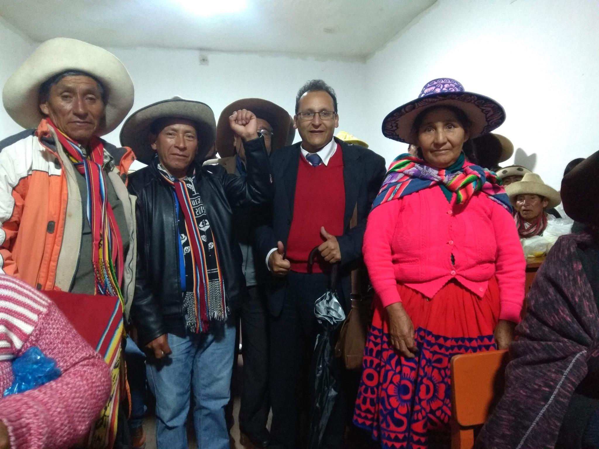 Diez defensores ambientales de Chumbivilcas fueron absueltos por acusación penal de minera en Cusco