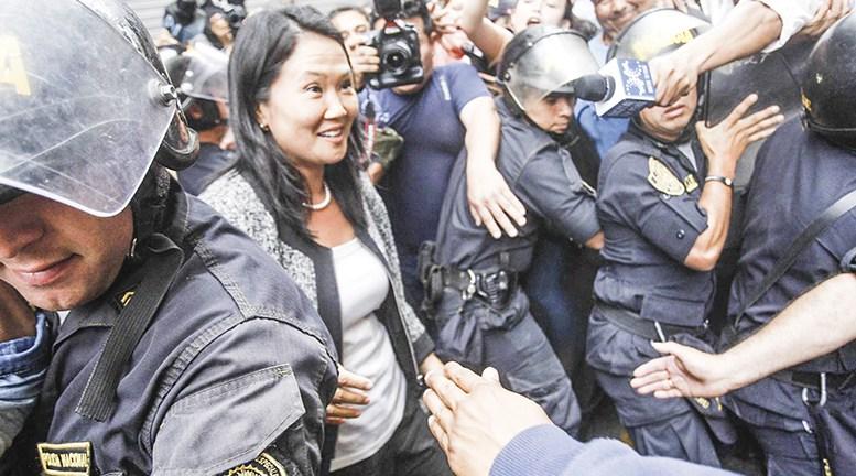 Keiko Fujimori se juega el primer round para no regresar a la cárcel (Exitosa)