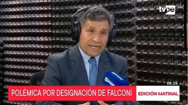 """Rivera: """"Hay que ser exigentes para que miembros de JNJ no tengan niveles de sospecha"""" (Radio Nacional)"""