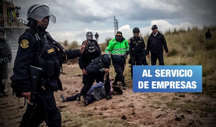 Retirarán seguridad policial a congresistas, pero no a mineras