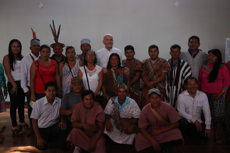 Relator especial de la ONU se reunió con comunidades indígenas y defensores ambientales de Ucayali
