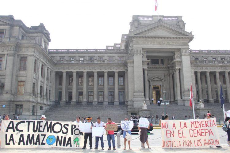 Líderes awajún exigen que se esclarezca asesinato de comunero tras protesta en contra de Gobierno Regional Amazonas