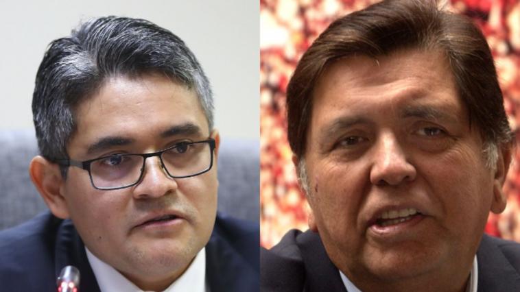 Alan García pensaba meterle un balazo al fiscal José Domingo Pérez Gómez (Diario Perfil)