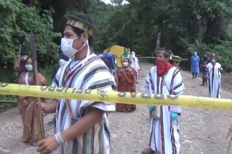 El ingreso sin permiso de los comerciantes al territorio indígena viola el derecho a la autodeterminación territorial