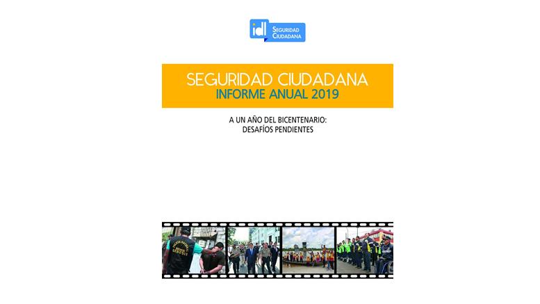 Informe anual de seguridad ciudadana: ¿Cómo estábamos protegidos antes de la pandemia?