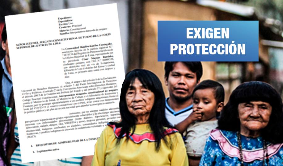 Comunidad Shipibo-Konibo de Cantagallo demanda a tres ministerios por desatender salud indígena (Wayka.pe)
