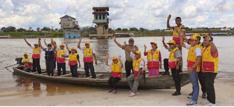 El combate a la delincuencia,  con la gente,  en la Amazonía peruana