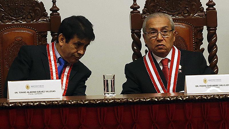 Los cargos contra Chávarry y Gálvez son graves y lo que corresponde es la destitución