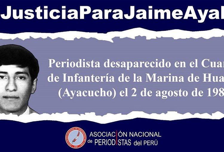 Caso Jaime Ayala: ANP pide fecha de inicio de audiencias